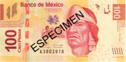 Billetes mexicanos de 100 pesos