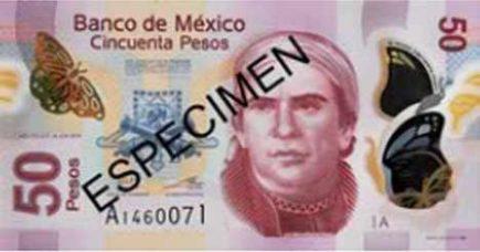 Billetes mexicanos de 50