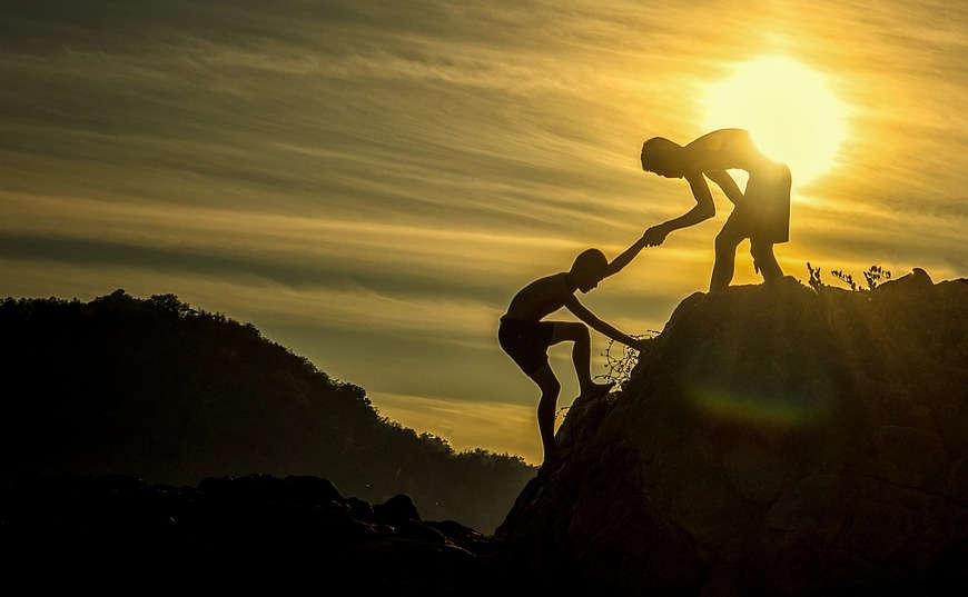 llegar a la cima con tu socio