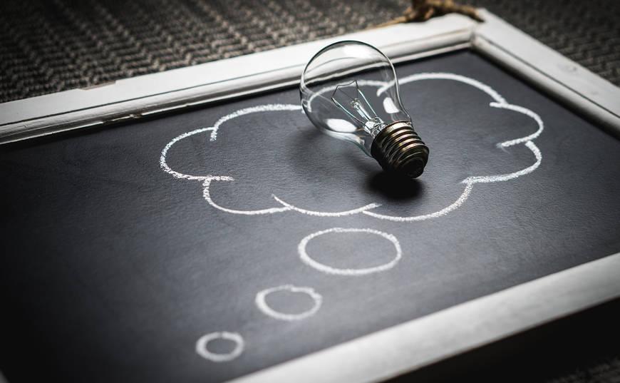 foco pensamiento idea