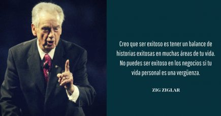 frase de desarrollo Zig Ziglar