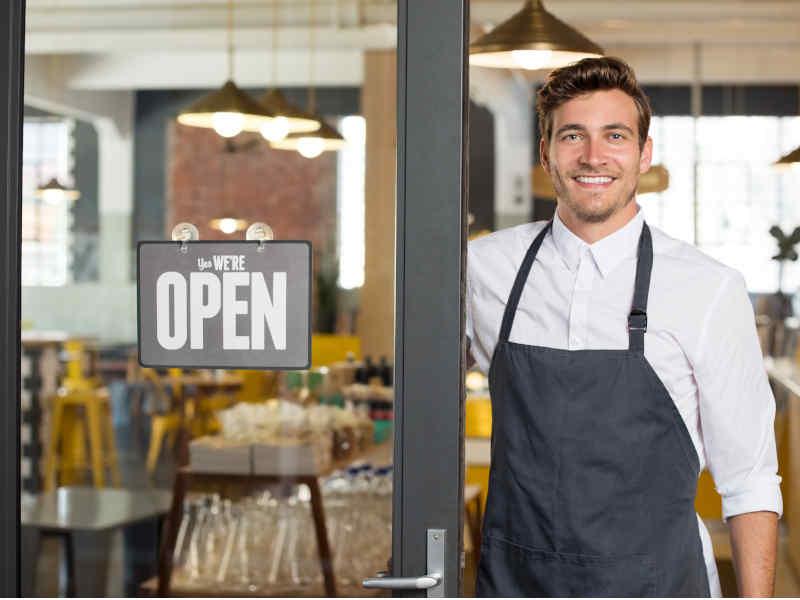 emprendedor y propietario de una pequeña empresa