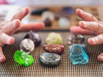 esencias florales piedras