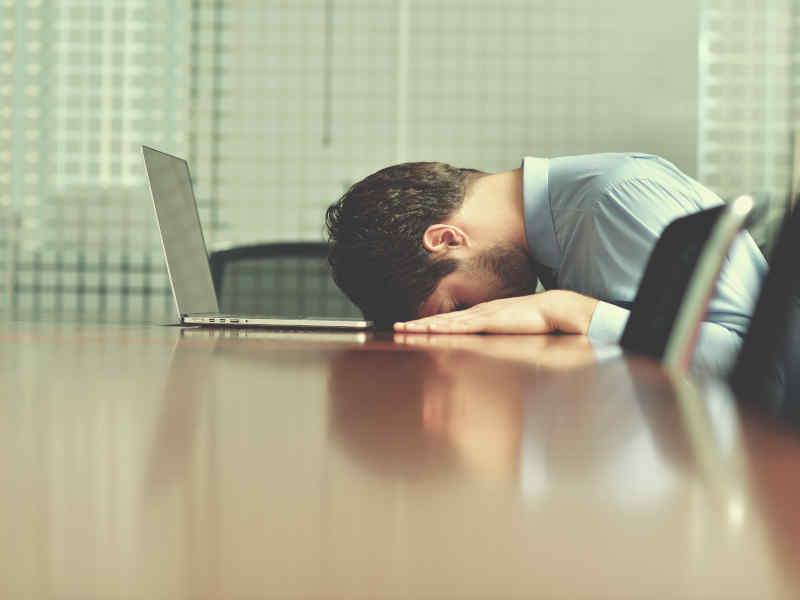 estrés empresarial