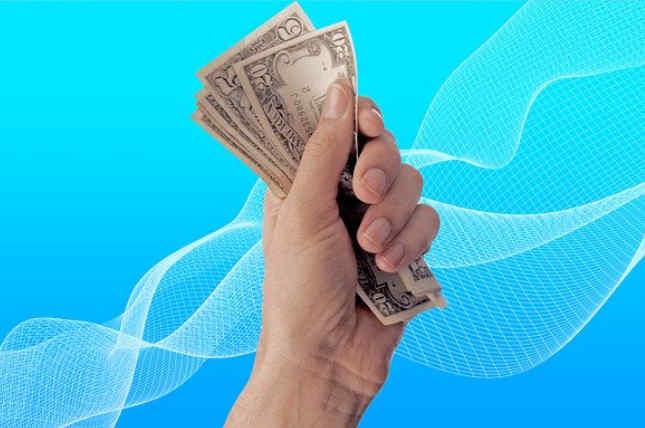 Presupuesto o sistema de ganancias predeterminado dinero