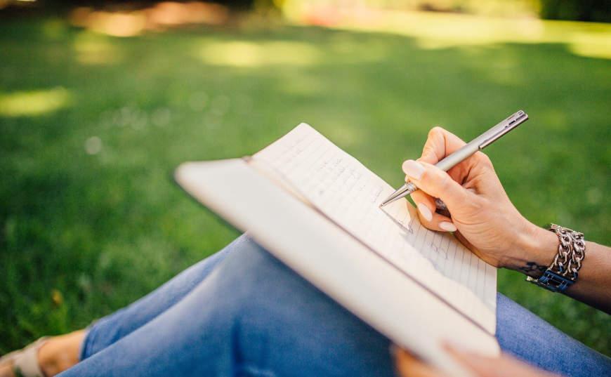 beneficios de escribir una frase